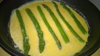 spárgás omlett