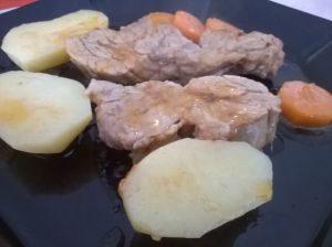 krumplis répás borjúszelet