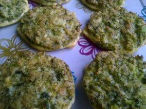 parmezános brokkoli fasírt